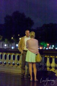 Demande en mariage surprise à Paris