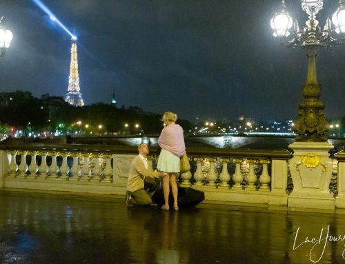 Demande en Mariage à Paris au Pont de Bir Hakeim