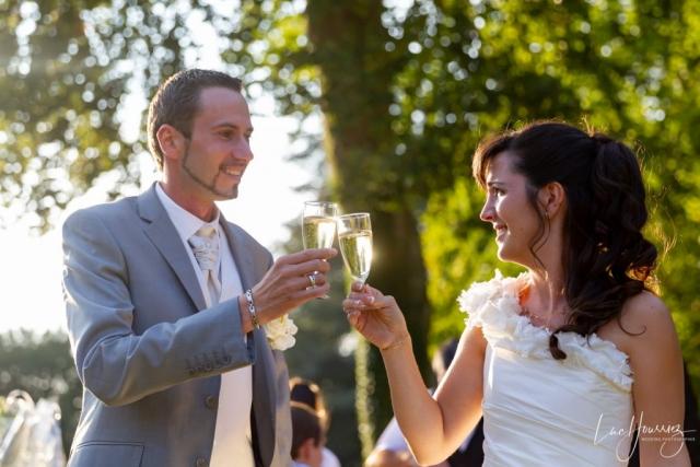 cocktail de mariage au Château de Bois-le-Roi