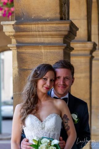 couple de marié à Thionville