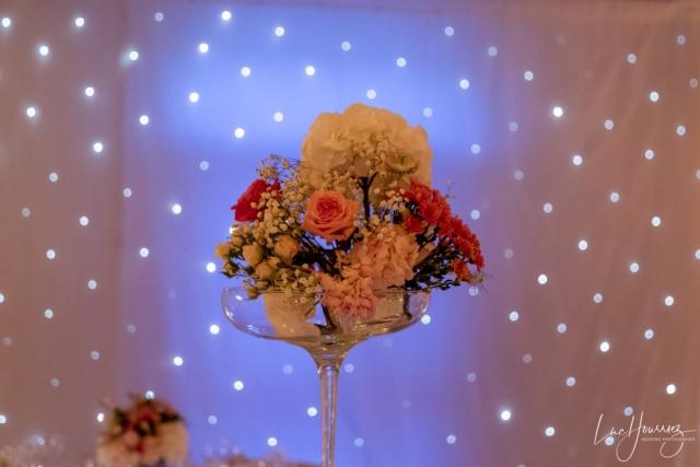 fleur reception de mariage
