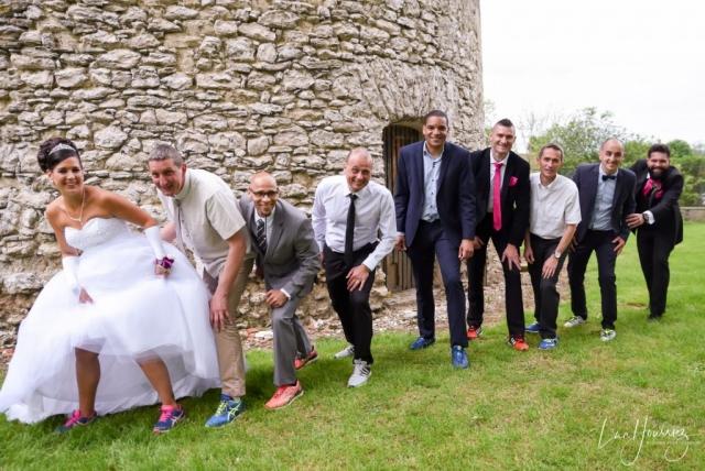 groupe de mariage sportif