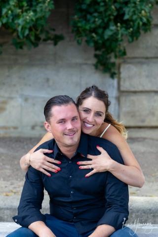 jolie couple à paris