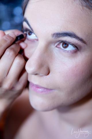 maquillage yeux de la mariée