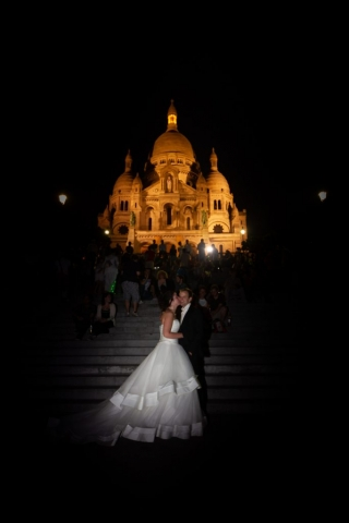 mariés au Sacré Coeur