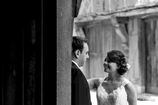 mariés dans les rues de Troyes
