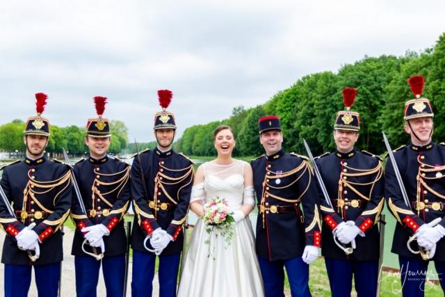 mariage avec la garde republicaine