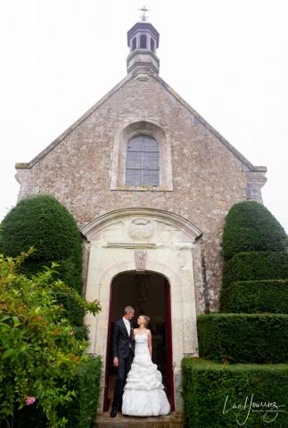 mariage dans une petite eglise