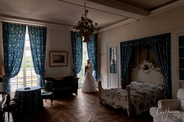 photo de couple au chateau de nandy