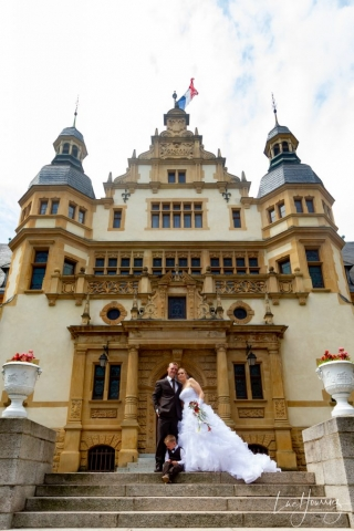 photo de couple mariage palais du gouverneur metz