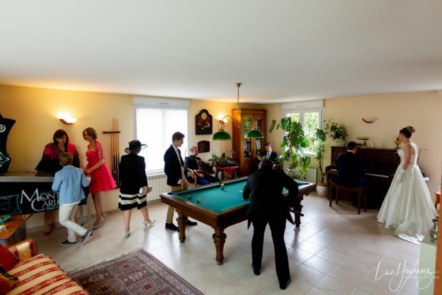 photo de famille mariage
