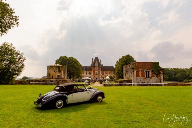 reception mariage dans un chateau