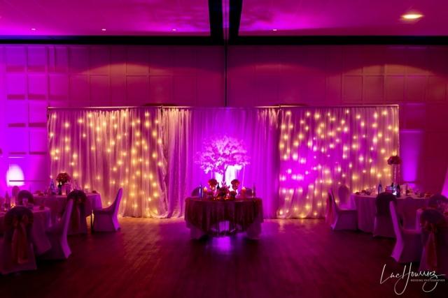 salle de reception de mariage à center parc