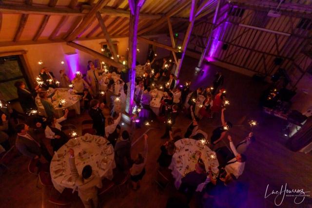 soirée mariage domaine de vermoise