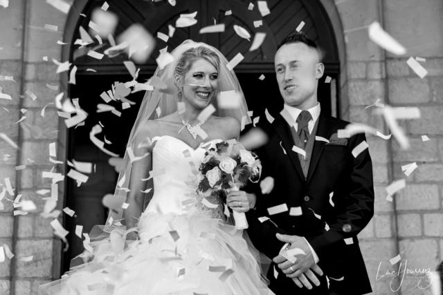 sortie d'eglise de mariage