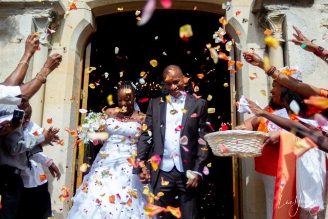 sortie eglise mariage à ferrieres en brie