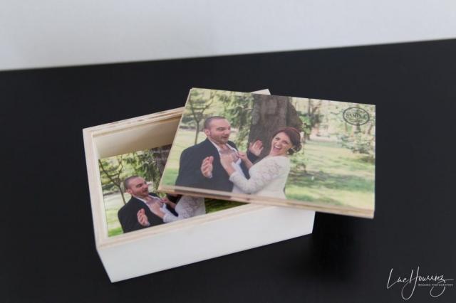 Coffret carte de remerciement de mariage