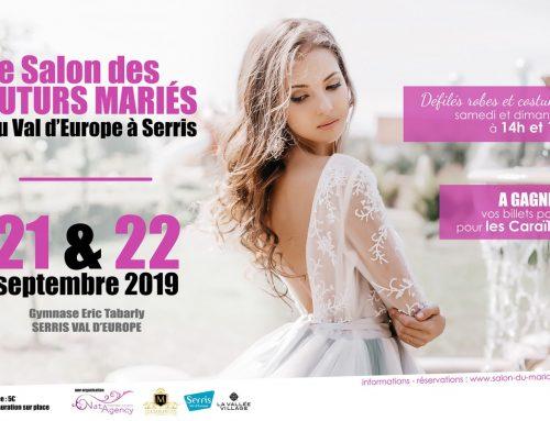 Salon des futurs mariés du Val d'Europe : rendez-vous les 21 et 22 septembre 2019
