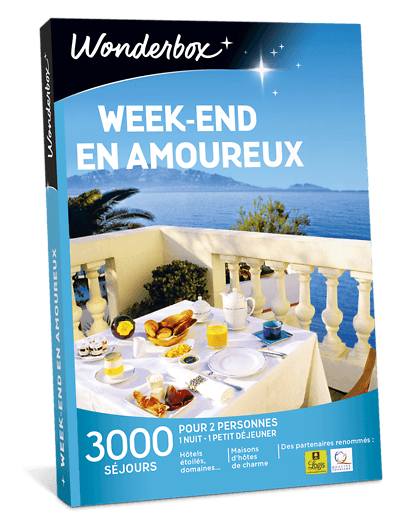 Wonderbox week-end en amoureux