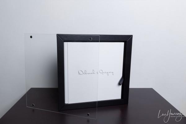 Album de mariage Collection Coffret Plexi Photographe Mariage Troyes
