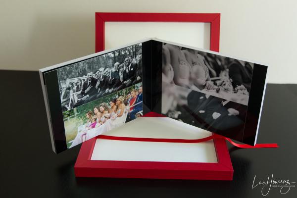 Album de mariage Collection Prestige Cuir Photographe Mariage Troyes