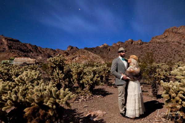 mariage retro desert du Nevada Photographe Mariage Troyes