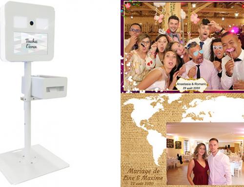 Louer une borne à selfie à Troyes pour votre mariage