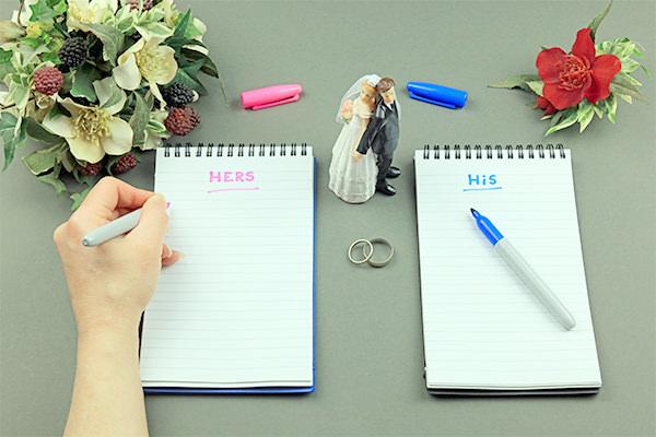 La check-list parfaite pour préparer votre mariage